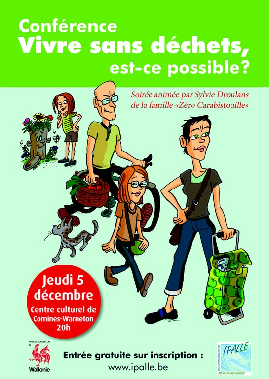 Affiche conférence ZD WP Comines